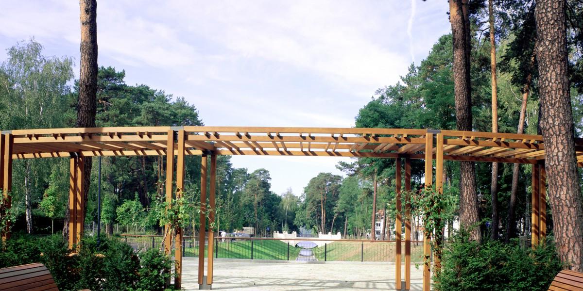 Pergola im Kurpark