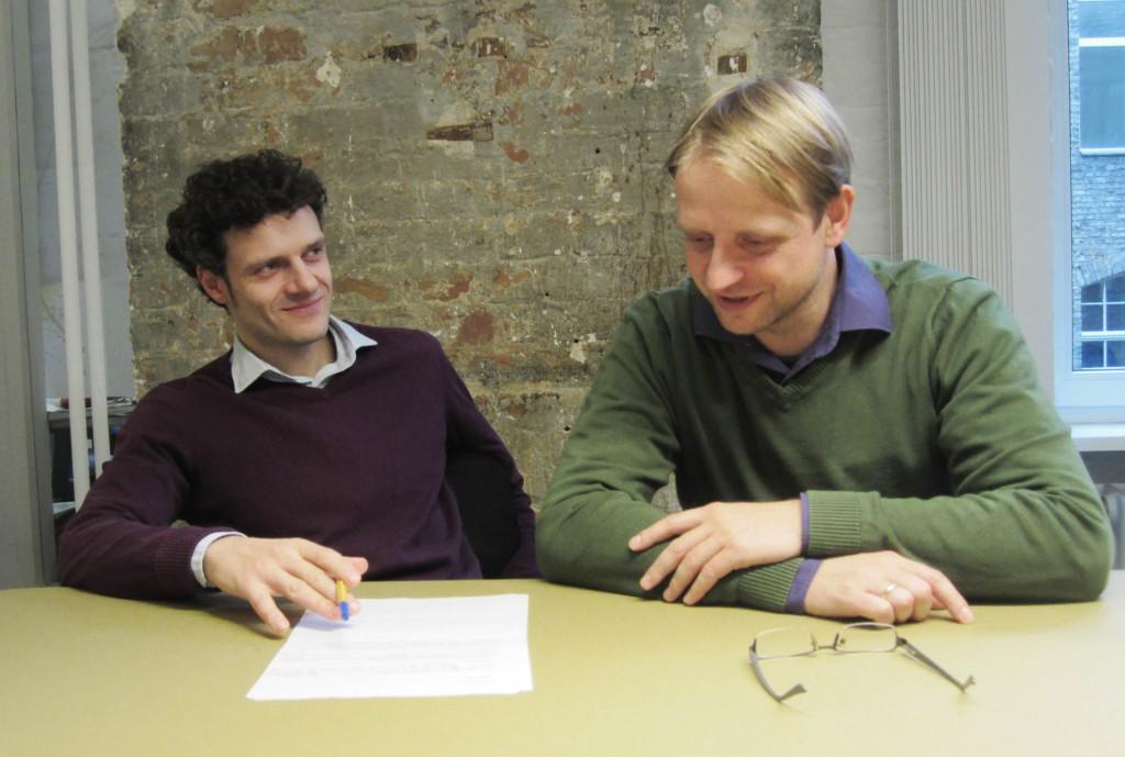 Reinhard und Helge