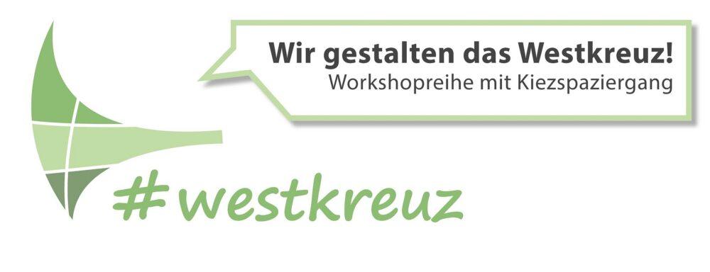 """Logo der Workshopreihe """"Wir Gestalten das Westkreuz"""""""