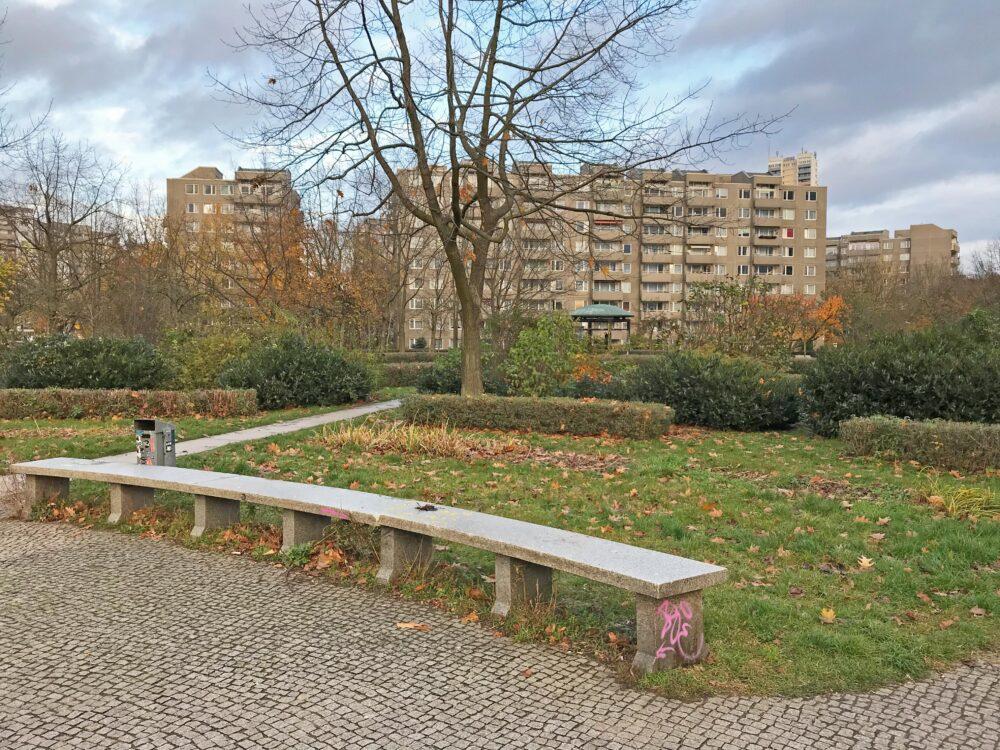 Sitzbank, Platz Gropiusstadt