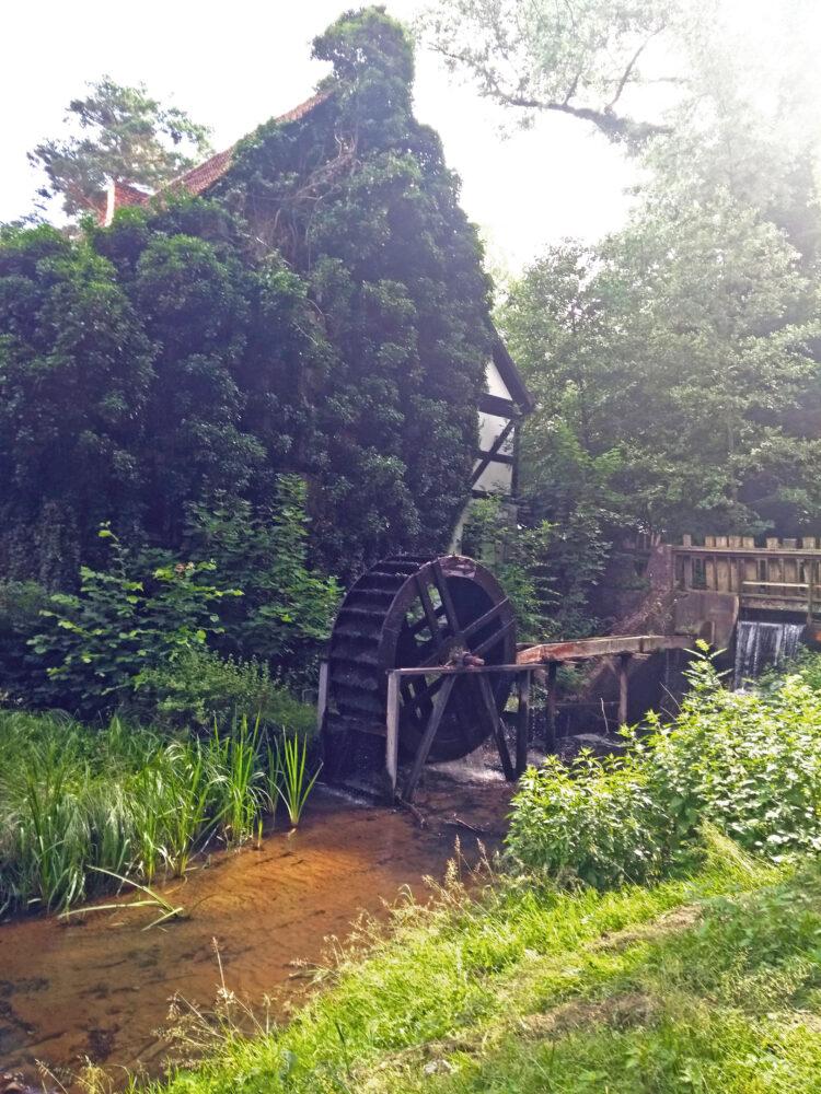 Wassermühle im Schlaubetal