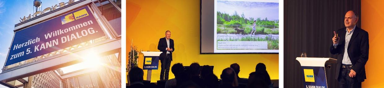 Harald Fugmann spricht beim 5. KANN Dialog über zukünftige Herausforderungen der Stadtentwicklung