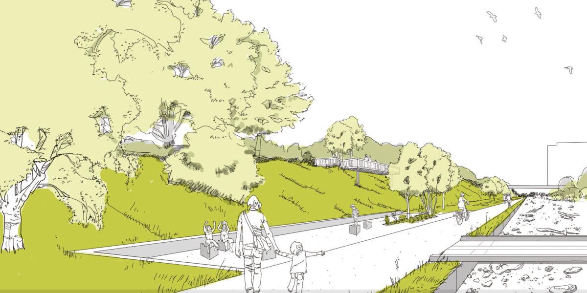 Perspektive Naturerfahrungsraum der Nord-Süd-Grünverbindung