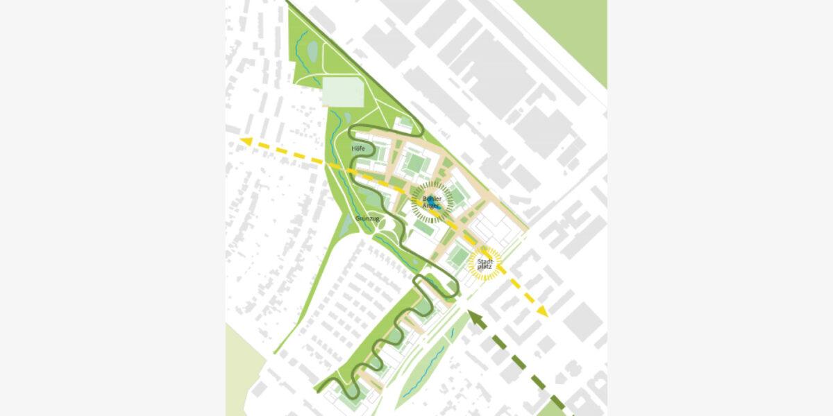Grün- und Freiräume Areal Böhler 2