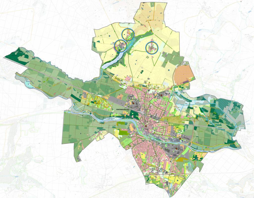 development concept of the new landscape plan fürstenwalde