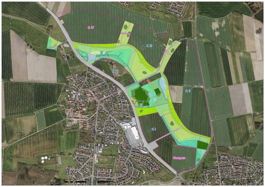 Karte des I-BP Sonnenkamp Wolfsburg