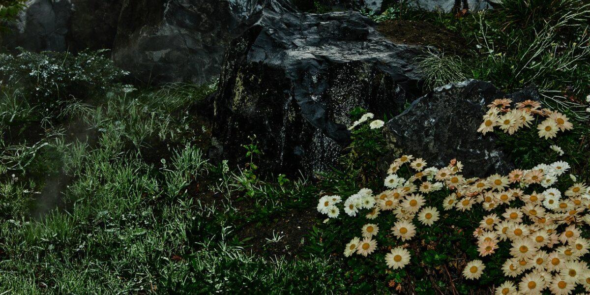 Detail of the art garden Das dritte Land