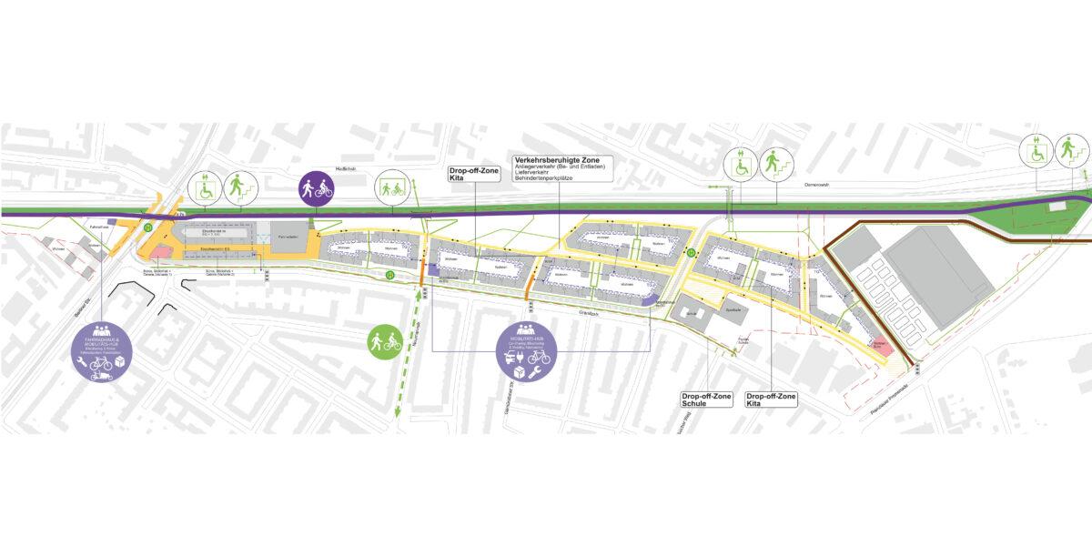 Pankower Tor, Plan Verkehrskonzept